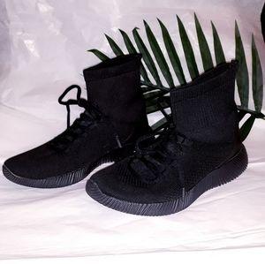 High top sock sneakers